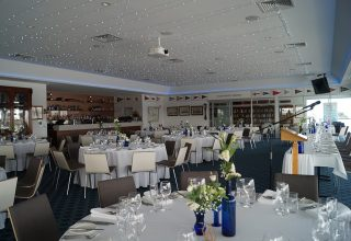 Squadron wedding reception